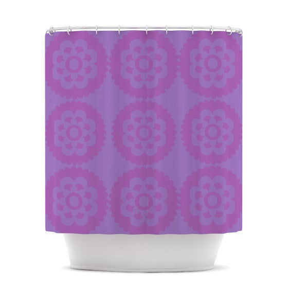 "Nicole Ketchum ""Moroccan Lilac"" Shower Curtain - KESS InHouse"