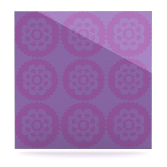 "Nicole Ketchum ""Moroccan Lilac"" Luxe Square Panel - KESS InHouse  - 1"
