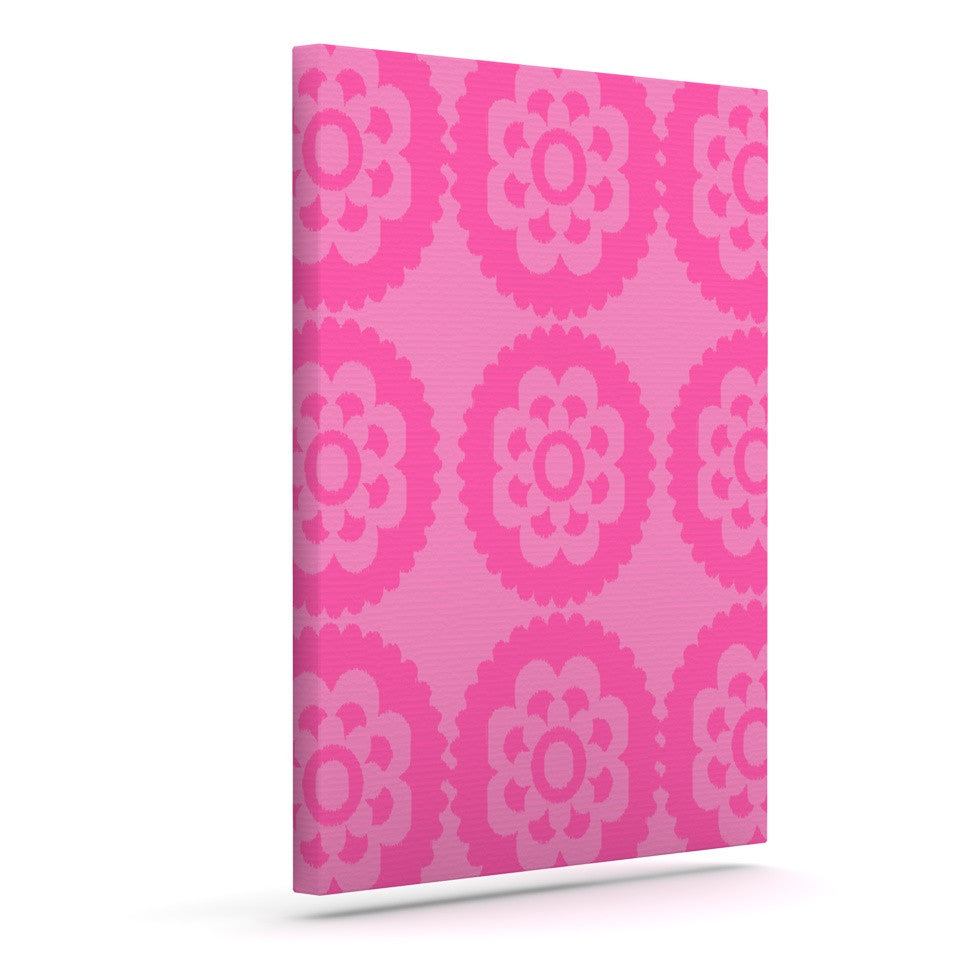 "Nicole Ketchum ""Moroccan Pink"" Outdoor Canvas Wall Art - KESS InHouse"