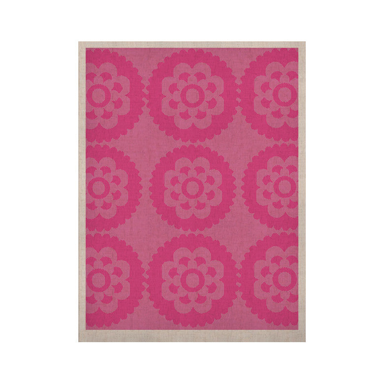 "Nicole Ketchum ""Moroccan Pink"" KESS Naturals Canvas (Frame not Included) - KESS InHouse  - 1"