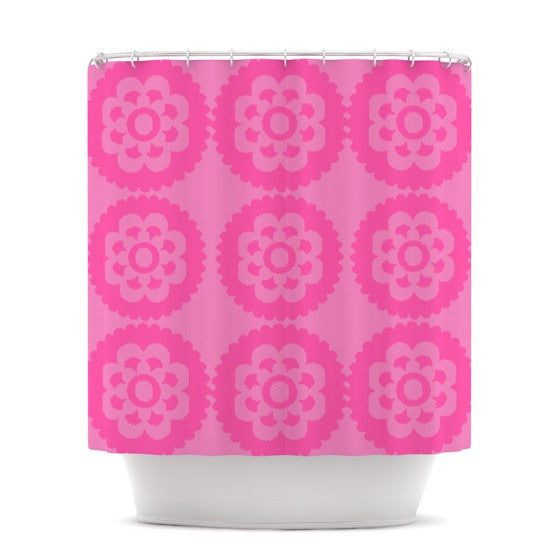 "Nicole Ketchum ""Moroccan Pink"" Shower Curtain - KESS InHouse"