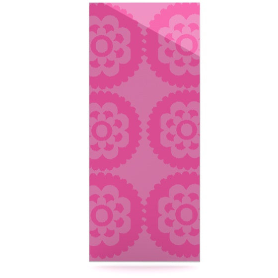 "Nicole Ketchum ""Moroccan Pink"" Luxe Rectangle Panel - KESS InHouse  - 1"