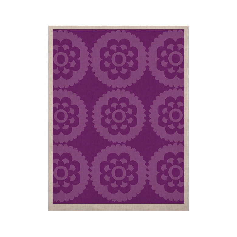 "Nicole Ketchum ""Moroccan Purple"" KESS Naturals Canvas (Frame not Included) - KESS InHouse  - 1"