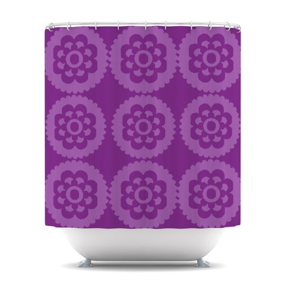 "Nicole Ketchum ""Moroccan Purple"" Shower Curtain - KESS InHouse"