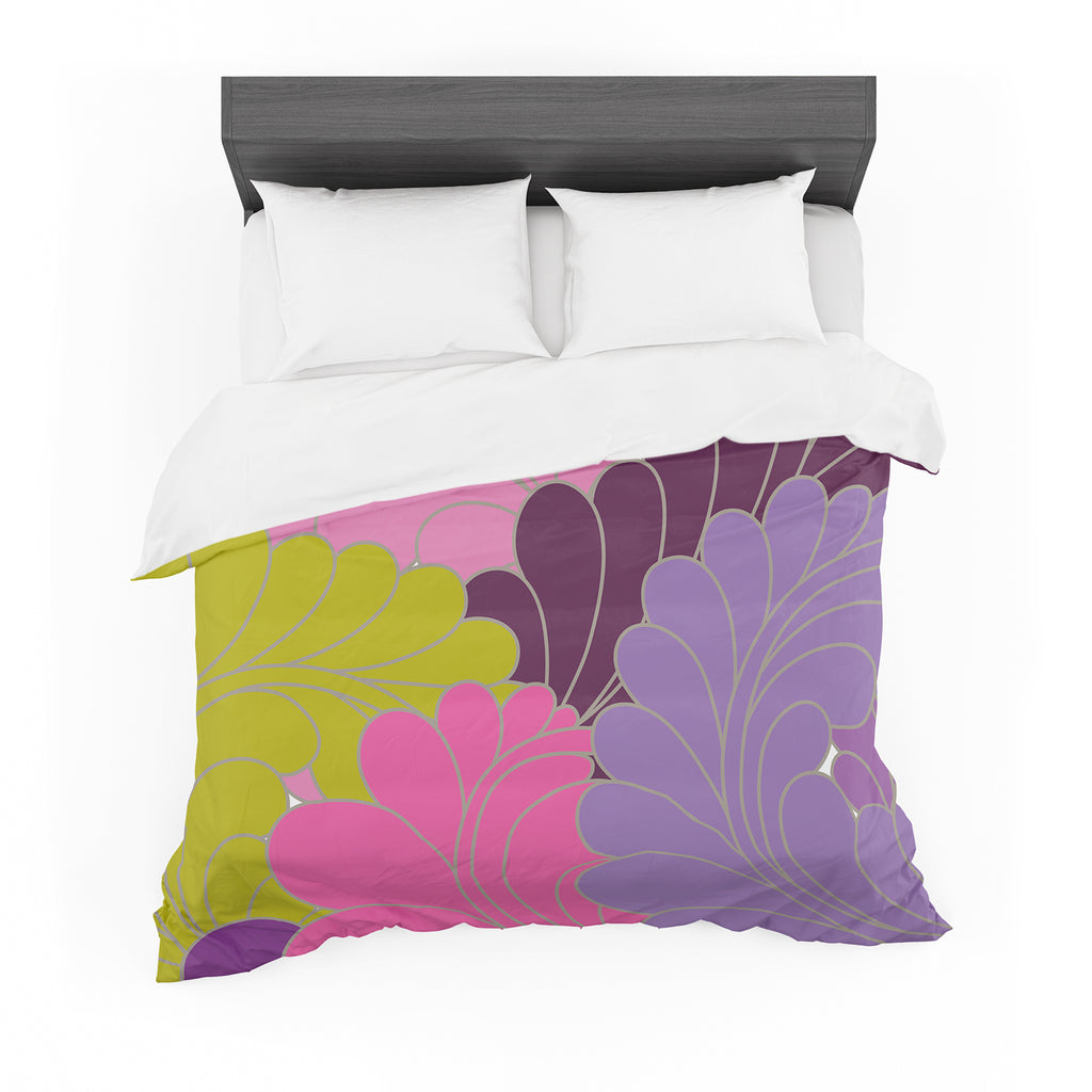 "Nicole Ketchum ""Moroccan Leaves"" Cotton Duvet"