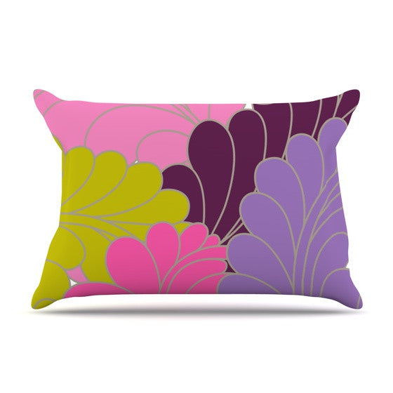 "Nicole Ketchum ""Moroccan Leaves"" Pillow Sham - KESS InHouse"