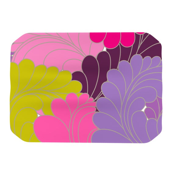 "Nicole Ketchum ""Moroccan Leaves"" Place Mat - KESS InHouse"