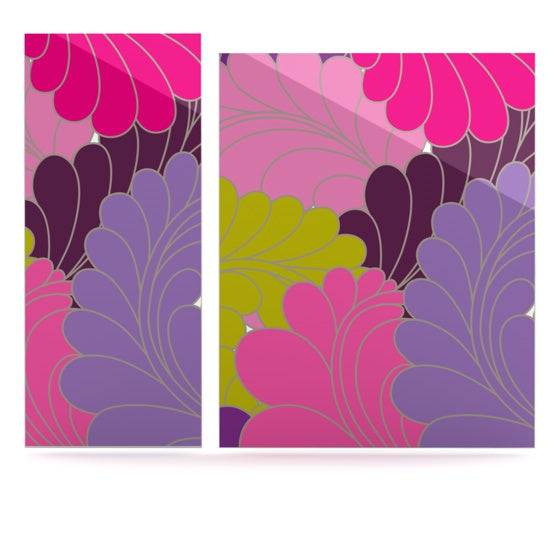 "Nicole Ketchum ""Moroccan Leaves"" Luxe Rectangle Panel - KESS InHouse  - 1"