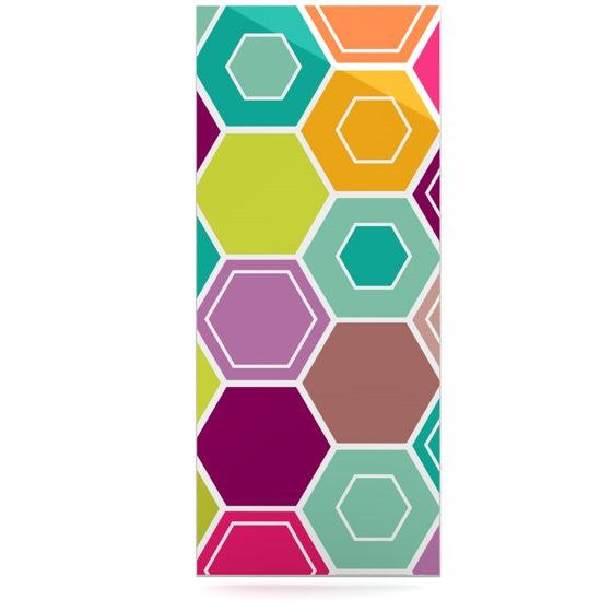 "Nicole Ketchum ""Arabian Bee"" Luxe Rectangle Panel - KESS InHouse"