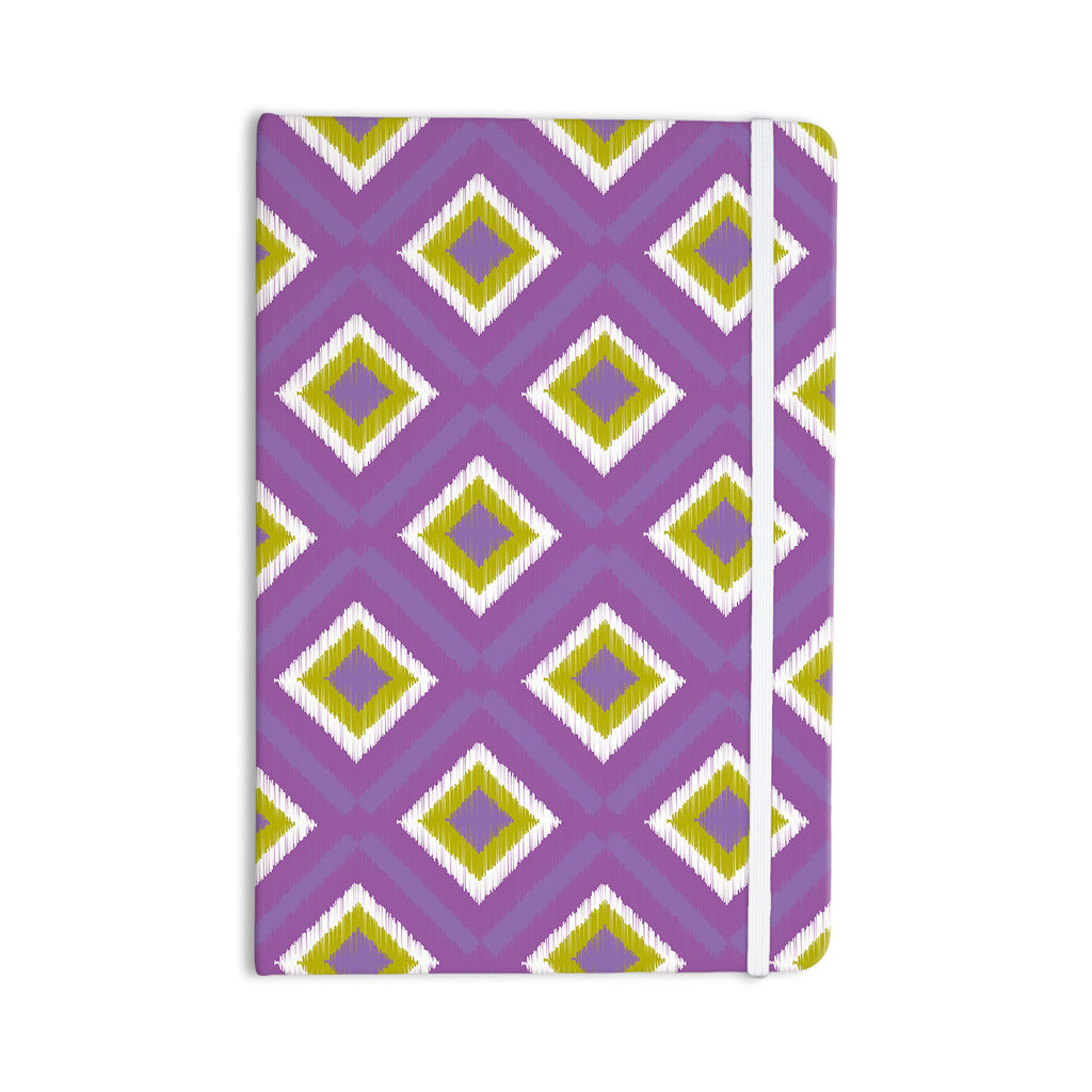 "Nicole Ketchum ""Purple Spash Tile"" Everything Notebook - KESS InHouse  - 1"