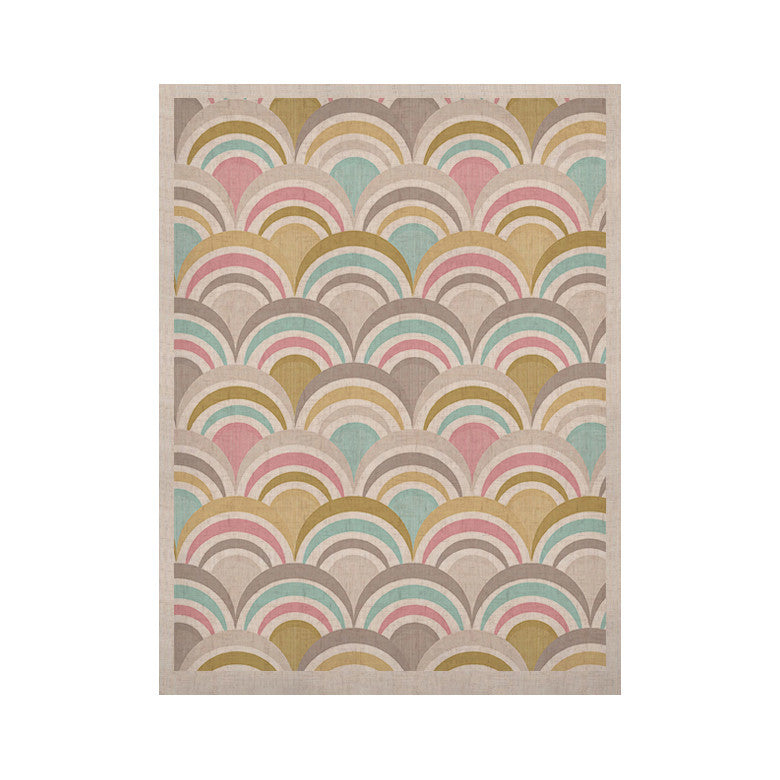 "Nicole Ketchum ""Art Deco Delight"" KESS Naturals Canvas (Frame not Included) - KESS InHouse  - 1"