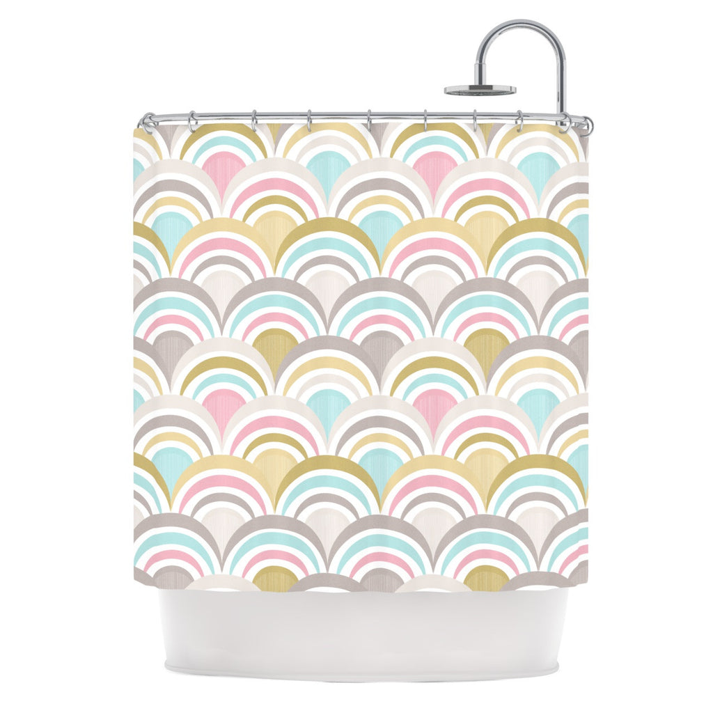 "Nicole Ketchum ""Art Deco Delight"" Shower Curtain - KESS InHouse"