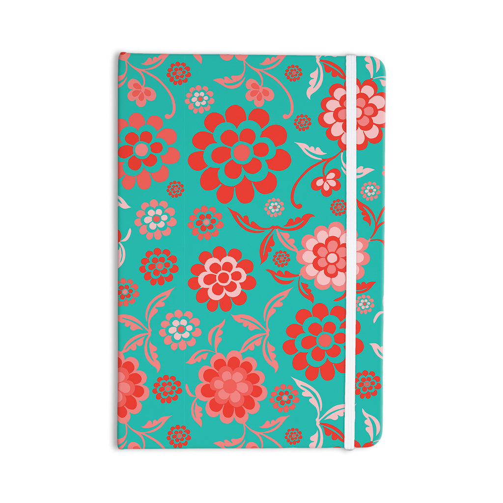 "Nicole Ketchum ""Cherry Floral Sea"" Everything Notebook - KESS InHouse  - 1"