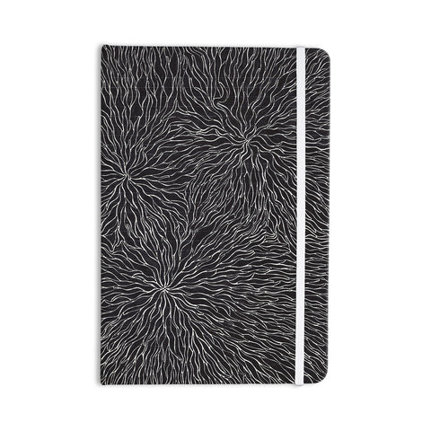"Nl Designs ""Garden Illusion"" Black White Everything Notebook - KESS InHouse"