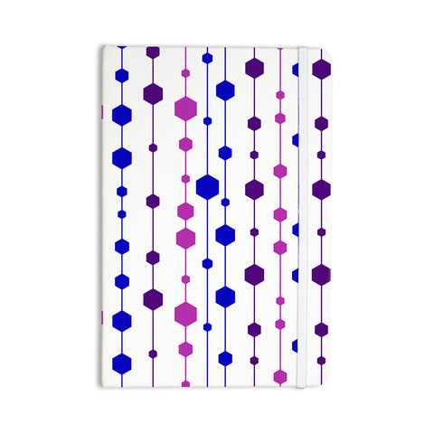 "NL Designs ""Cool Dots"" Line Pattern Everything Notebook - KESS InHouse  - 1"