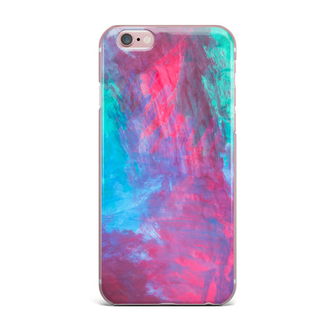"NL Designs ""Bold Choice"" Teal Painting iPhone Case - KESS InHouse"
