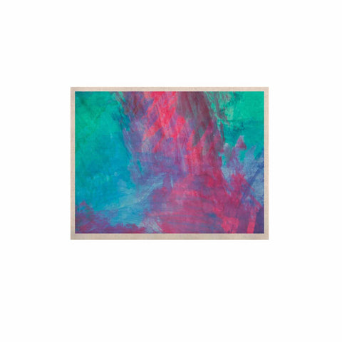 "NL Designs ""Bold Choice"" Teal Painting KESS Naturals Canvas (Frame not Included) - KESS InHouse  - 1"