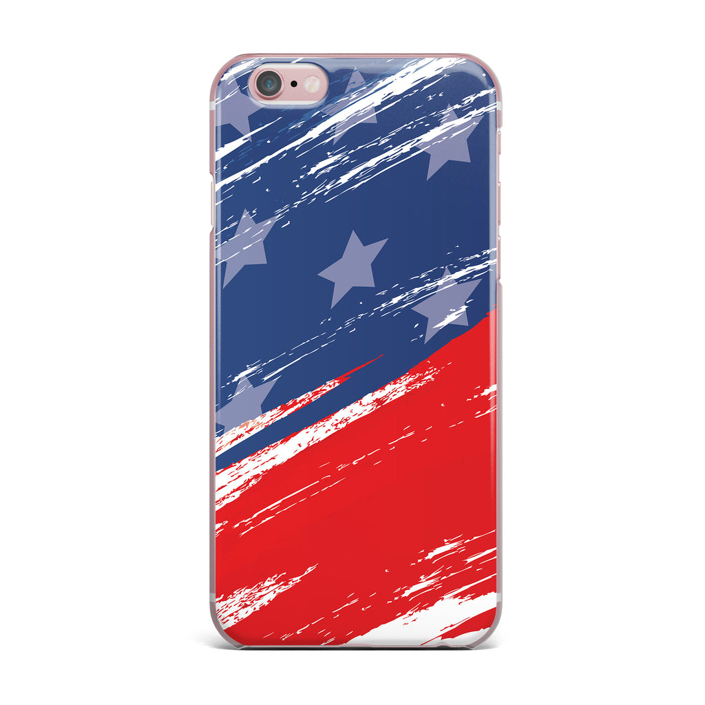 "NL designs ""Red White Blue"" Red White iPhone Case - KESS InHouse"
