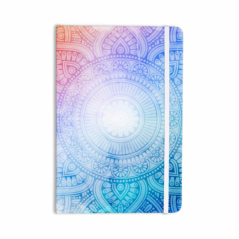 "NL designs ""Pastel Rainbow Mandala"" Pastel Multicolor Ethnic Pattern Digital Vector Everything Notebook"