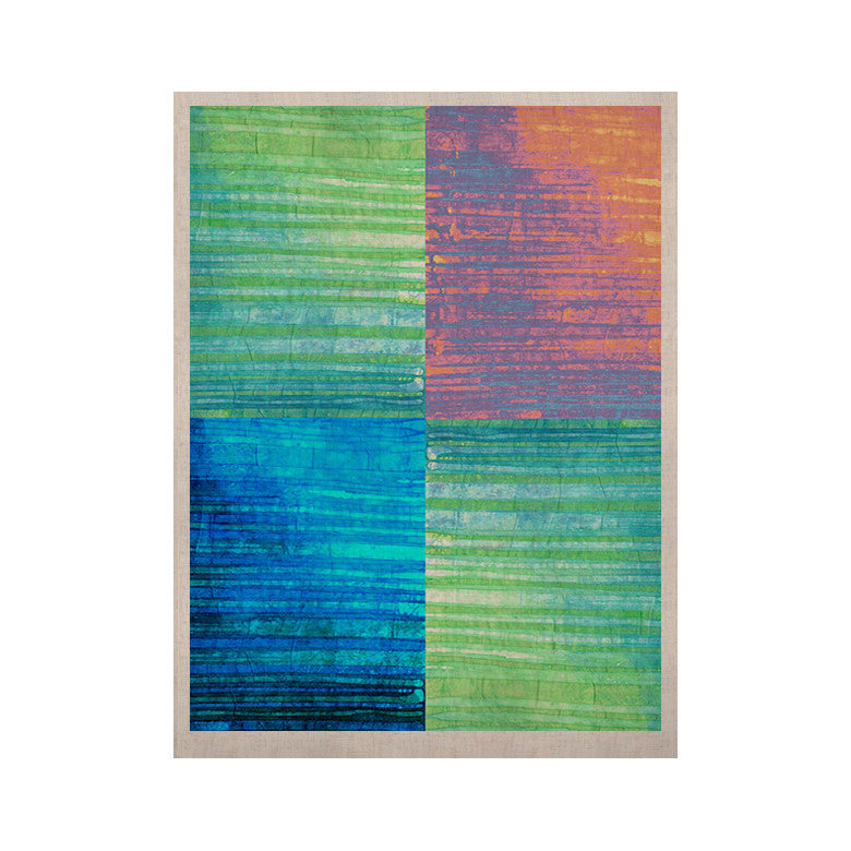 "Nina May ""Crayon Batik"" KESS Naturals Canvas (Frame not Included) - KESS InHouse  - 1"
