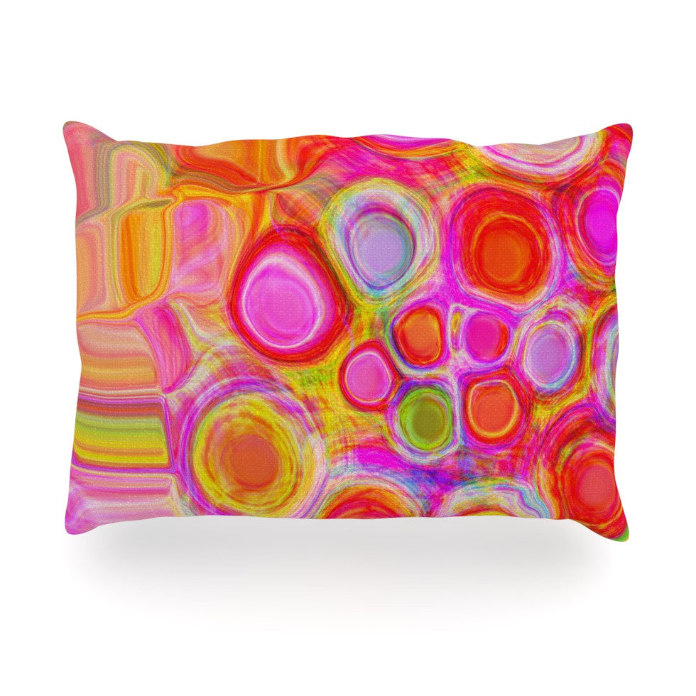 "Nina May ""Spring"" Oblong Pillow - KESS InHouse"