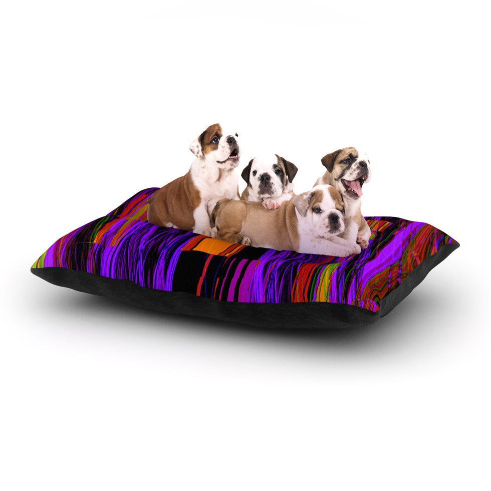 "Nina May ""Threads"" Dog Bed - KESS InHouse  - 1"