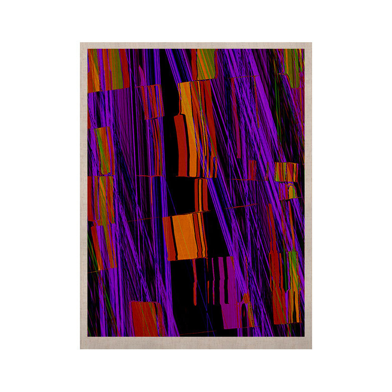 "Nina May ""Threads"" KESS Naturals Canvas (Frame not Included) - KESS InHouse  - 1"