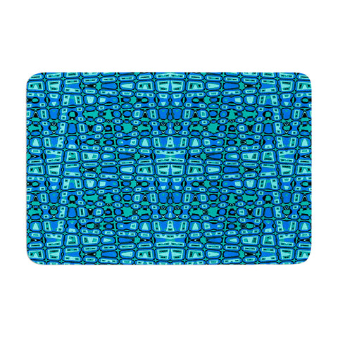 "Nina May ""Variblue"" Memory Foam Bath Mat - Outlet Item"