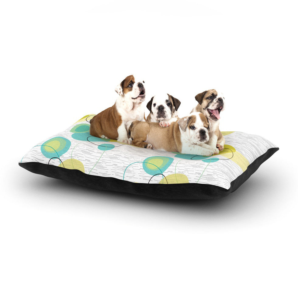 "Nina May ""Vaniretro"" Dog Bed - KESS InHouse  - 1"