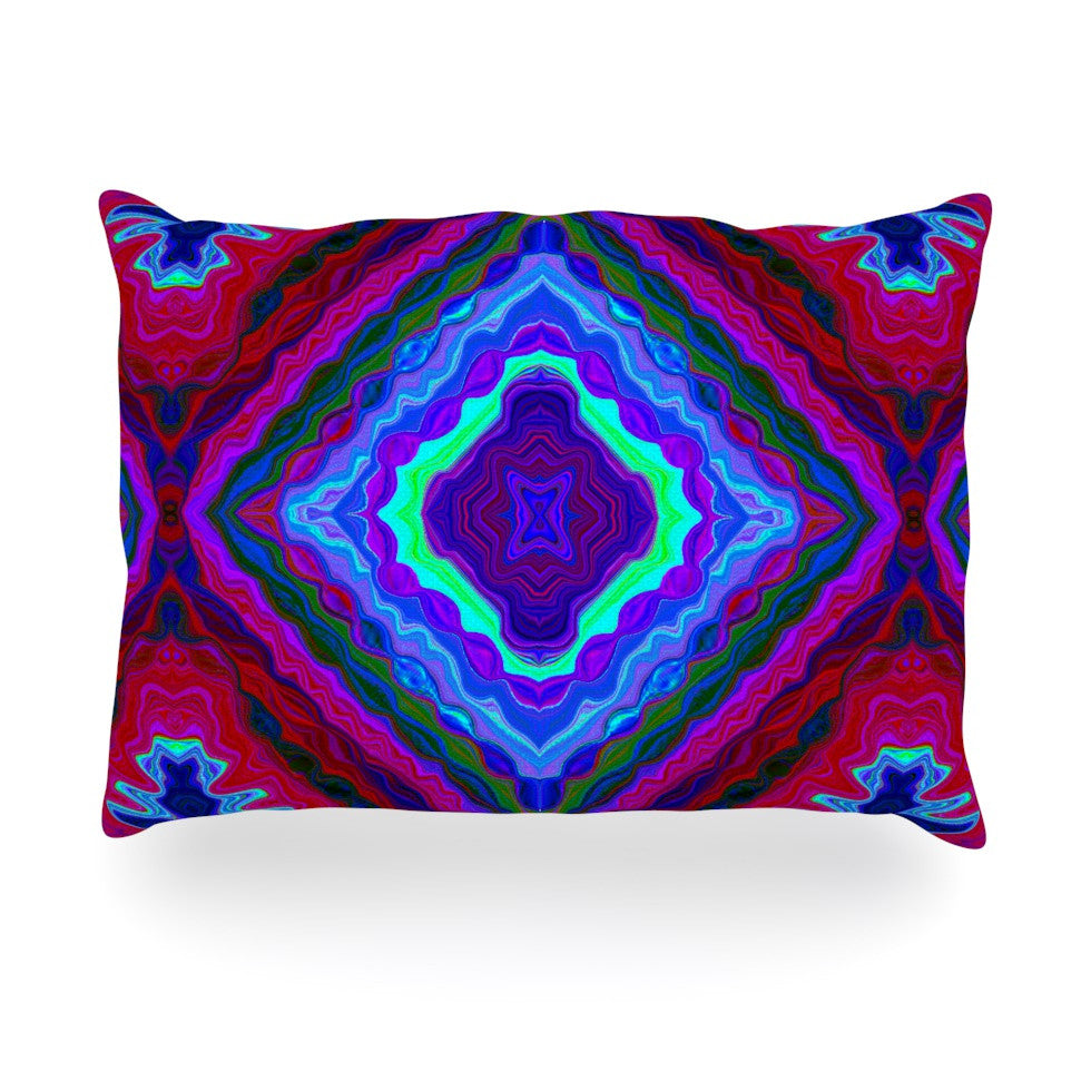 "Nina May ""Kilim"" Oblong Pillow - KESS InHouse"