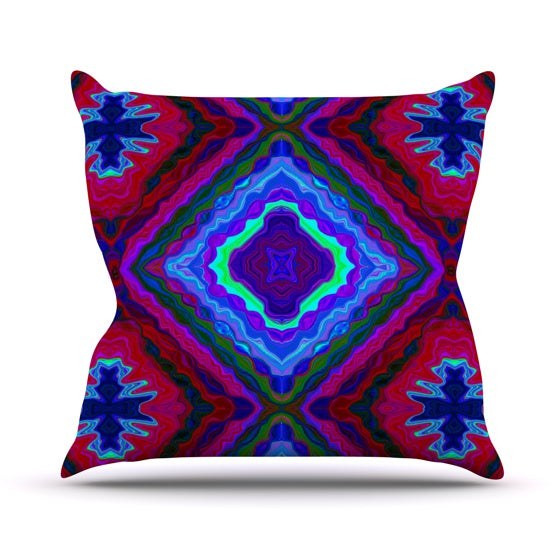 "Nina May ""Kilim"" Throw Pillow - KESS InHouse  - 1"