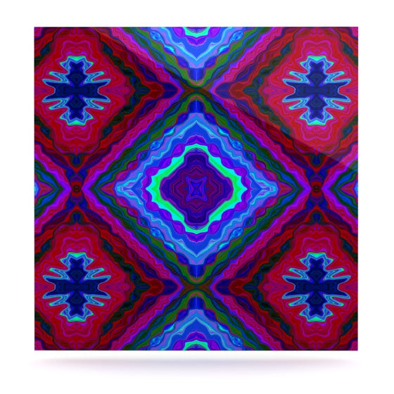 "Nina May ""Kilim"" Luxe Square Panel - KESS InHouse  - 1"