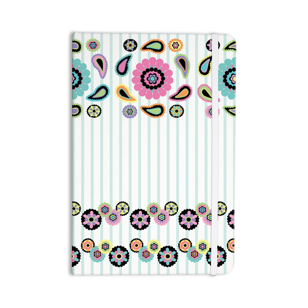 "Nina May ""Paisley Party"" Paisley Flower Everything Notebook - KESS InHouse  - 1"
