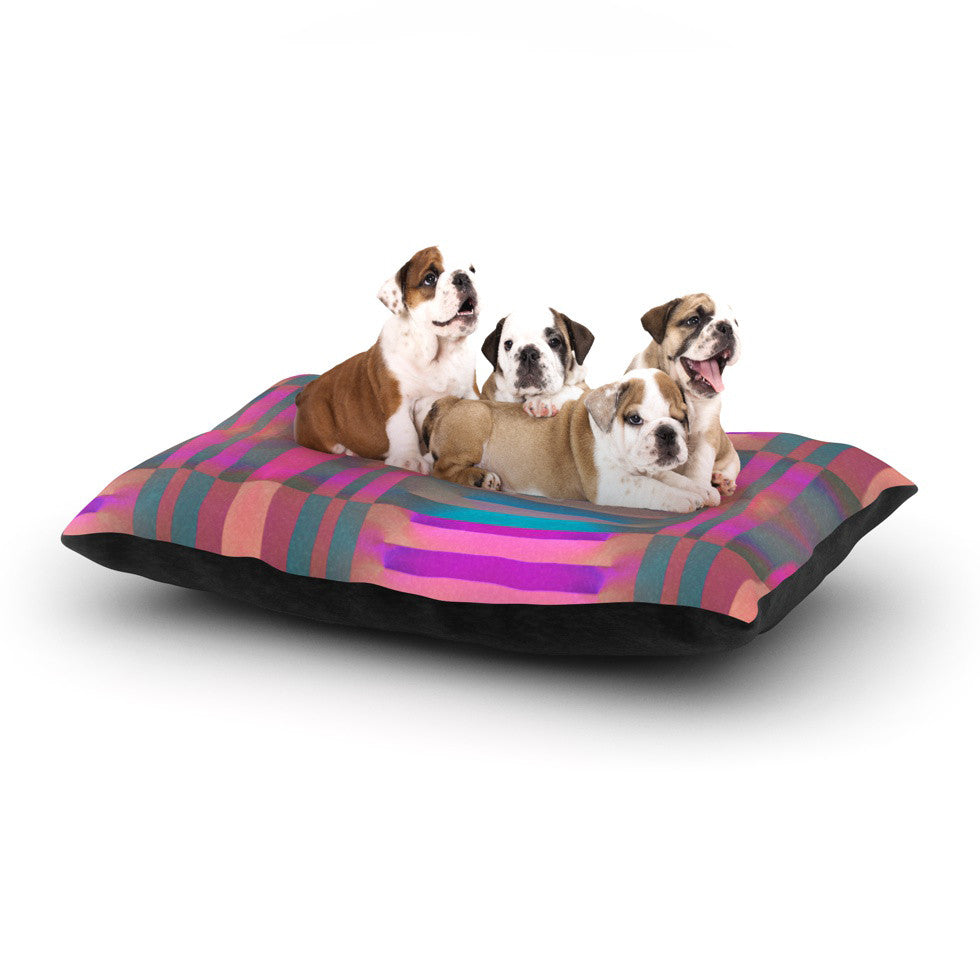 "Nina May ""Tracking"" Stripes Dog Bed - KESS InHouse  - 1"