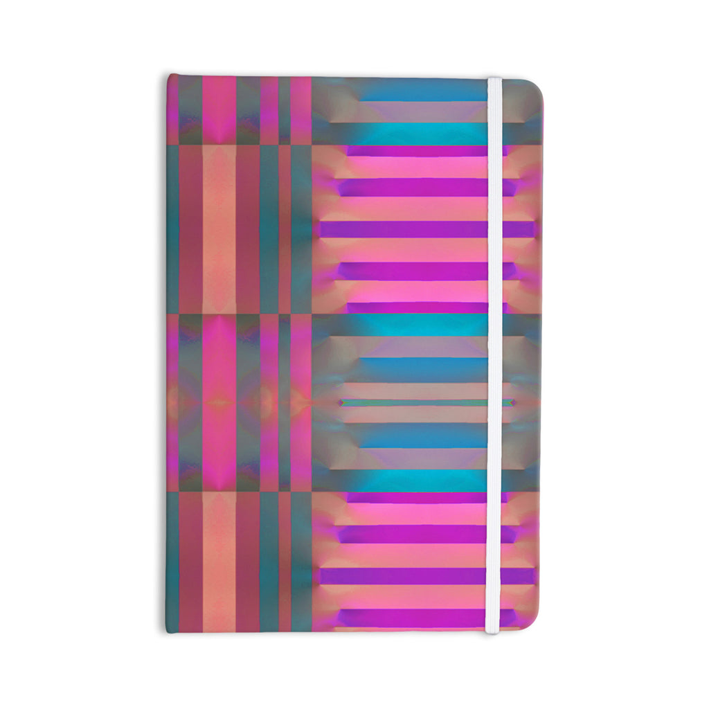 "Nina May ""Tracking"" Stripes Everything Notebook - KESS InHouse  - 1"