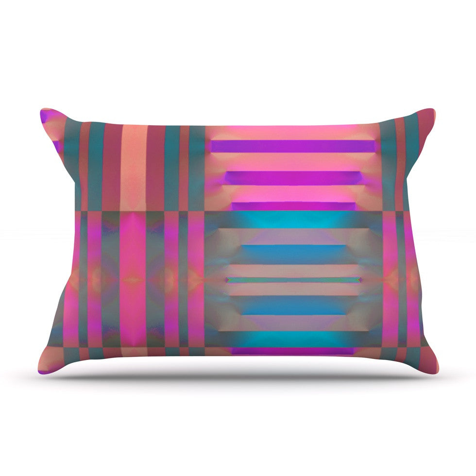 "Nina May ""Tracking"" Stripes Pillow Sham - KESS InHouse"
