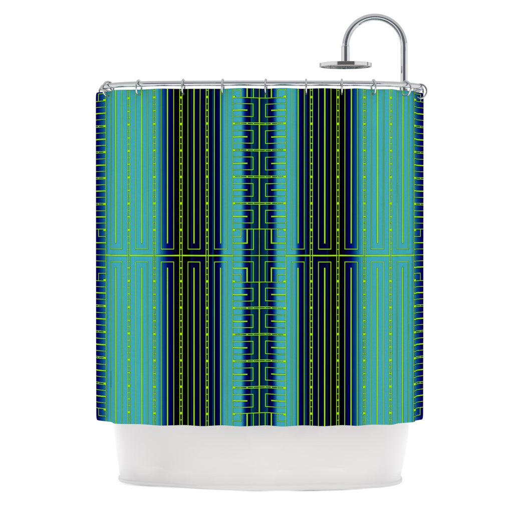 "Nina May ""Deco City"" Shower Curtain - KESS InHouse"