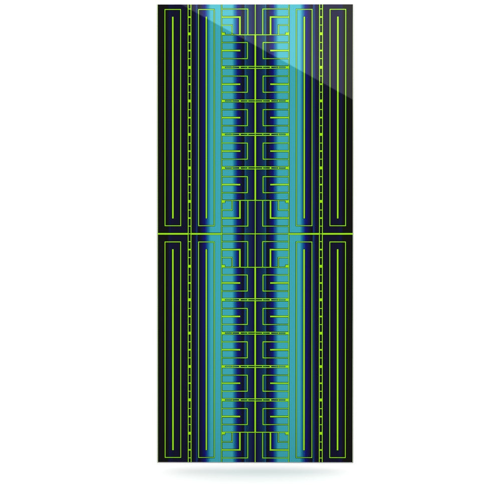 "Nina May ""Deco City"" Luxe Rectangle Panel - KESS InHouse  - 1"