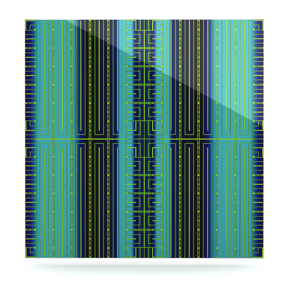 "Nina May ""Deco City"" Luxe Square Panel - KESS InHouse  - 1"