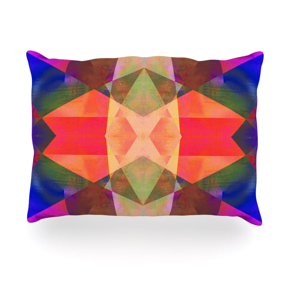 "Nina May ""Irridesco"" Oblong Pillow - KESS InHouse"