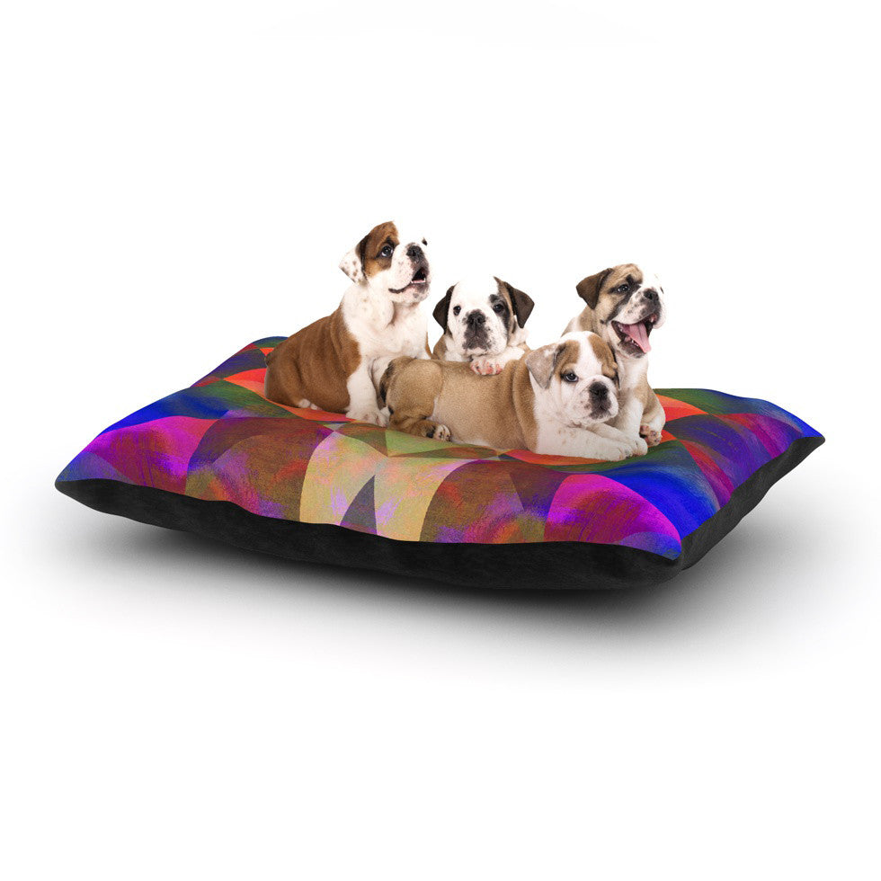 "Nina May ""Irridesco"" Dog Bed - KESS InHouse  - 1"
