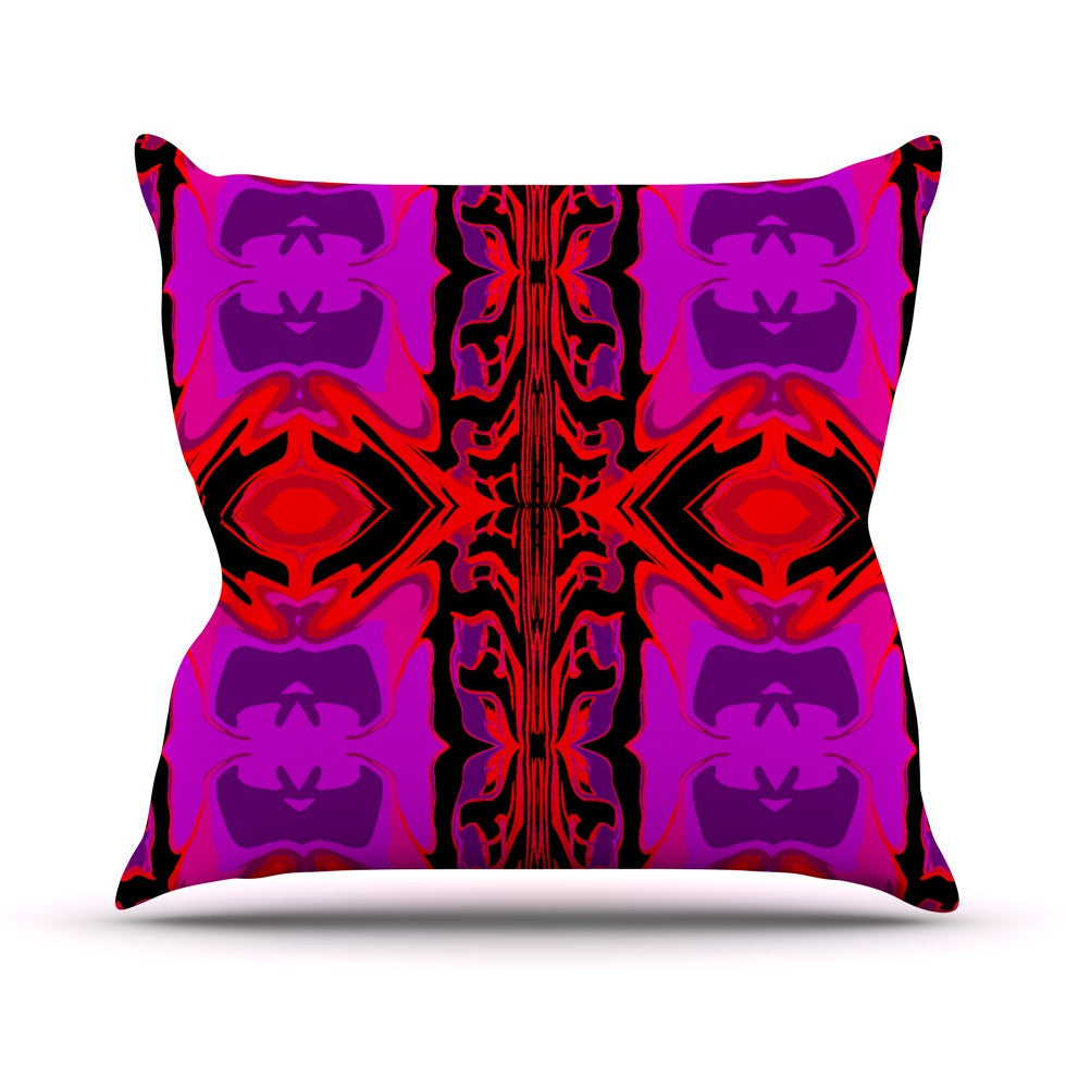 "Nina May ""Ornamena"" Throw Pillow - KESS InHouse  - 1"