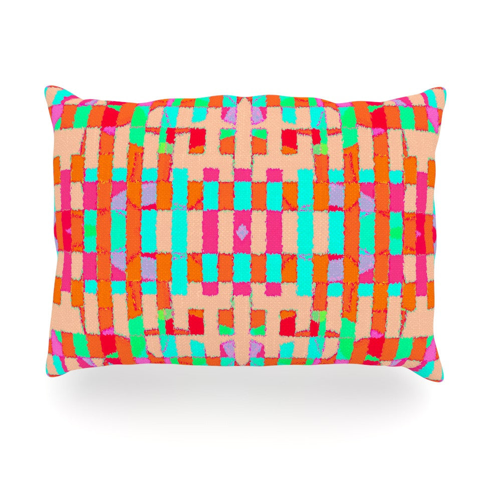 "Nina May ""Sorbetta"" Oblong Pillow - KESS InHouse"