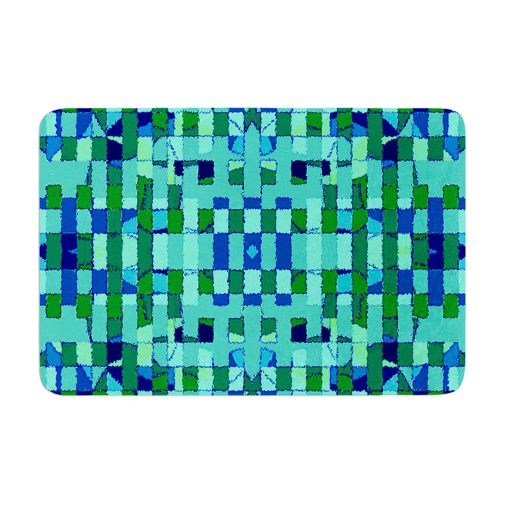 "Nina May ""Verdiga"" Memory Foam Bath Mat - KESS InHouse"