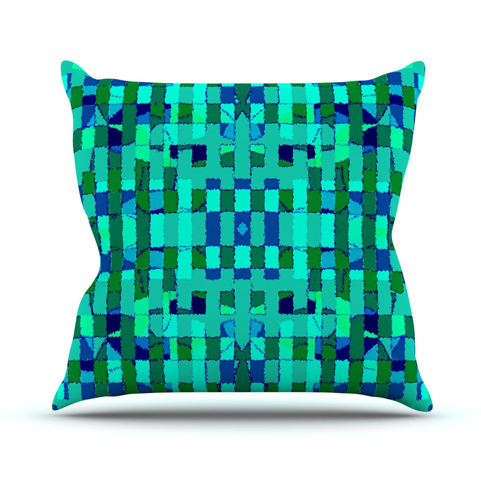 "Nina May ""Verdiga"" Outdoor Throw Pillow - KESS InHouse  - 1"