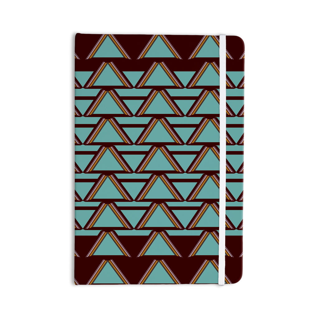 "Nina May ""Deco Angels Choco Mint"" Everything Notebook - KESS InHouse  - 1"