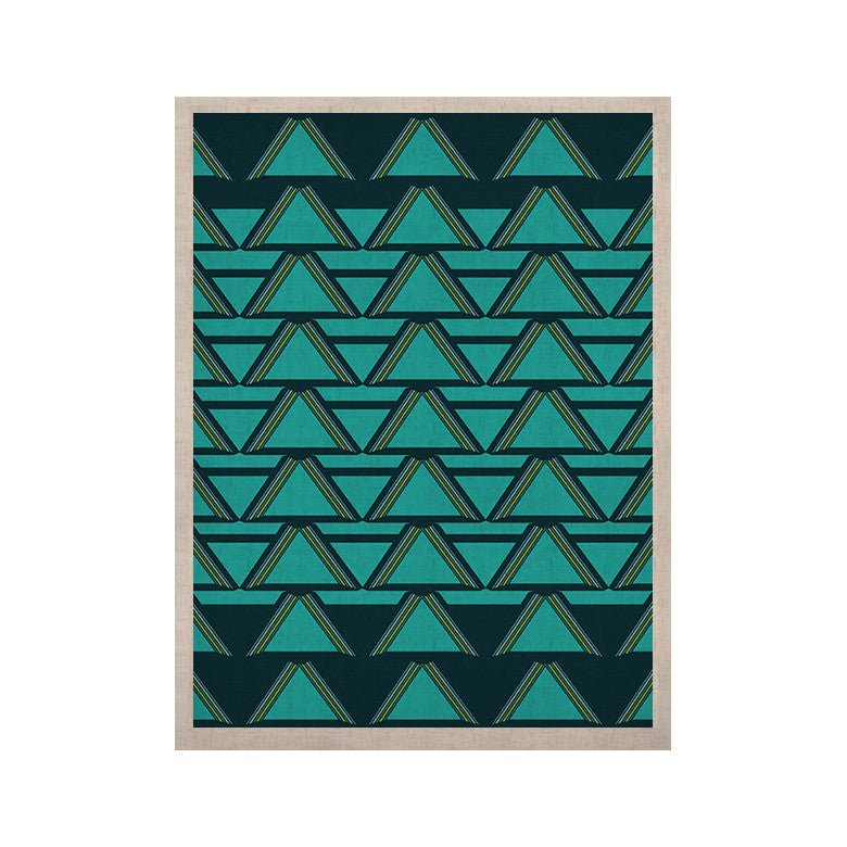 "Nina May ""Deco Angles"" KESS Naturals Canvas (Frame not Included) - KESS InHouse  - 1"