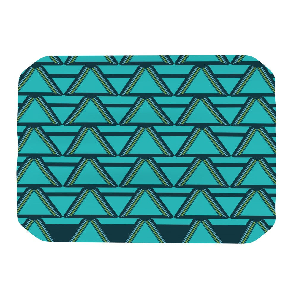 "Nina May ""Deco Angles"" Place Mat - KESS InHouse"