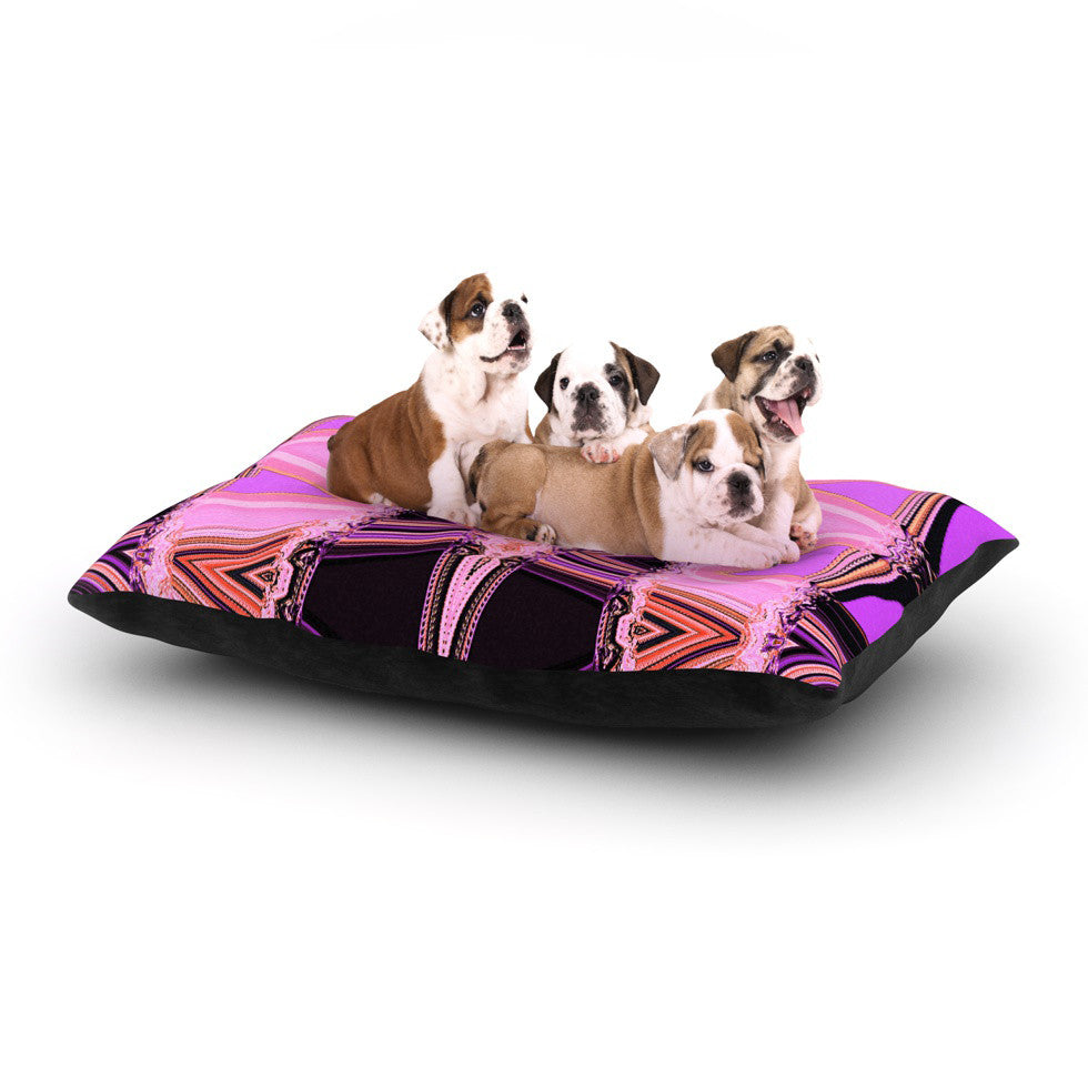 "Nina May ""Decorama Pink"" Dog Bed - KESS InHouse  - 1"