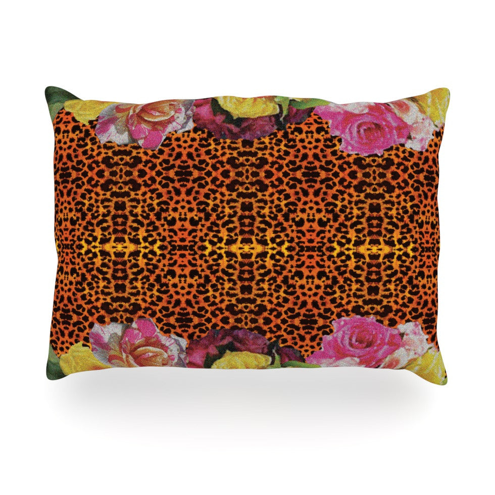 "Nina May ""New Rose Eleo"" Oblong Pillow - KESS InHouse"